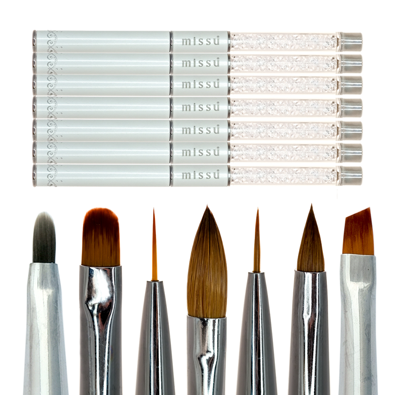 Crystal Nail Art Brush Set Missu Australia